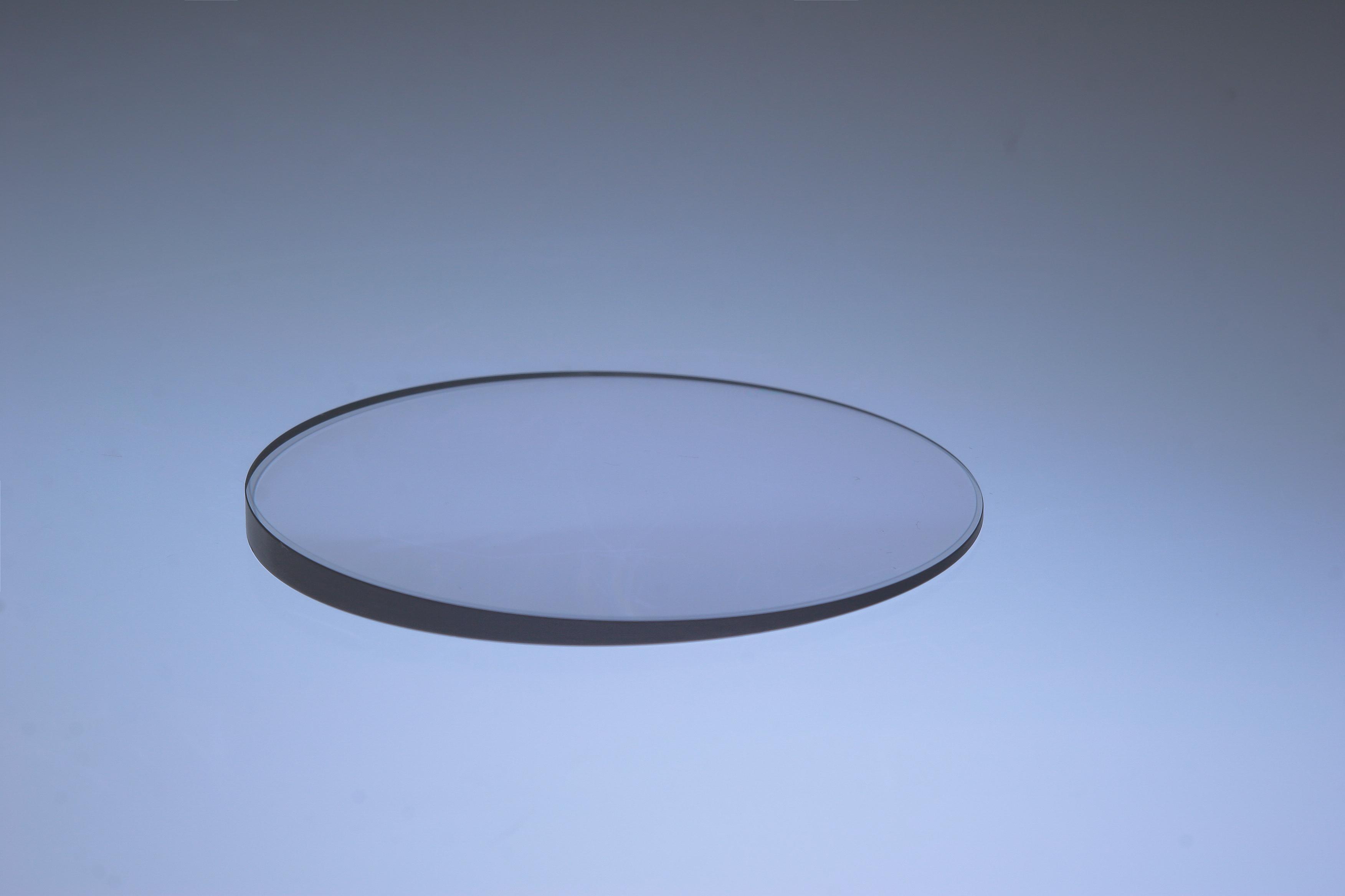 Optical wedge plate