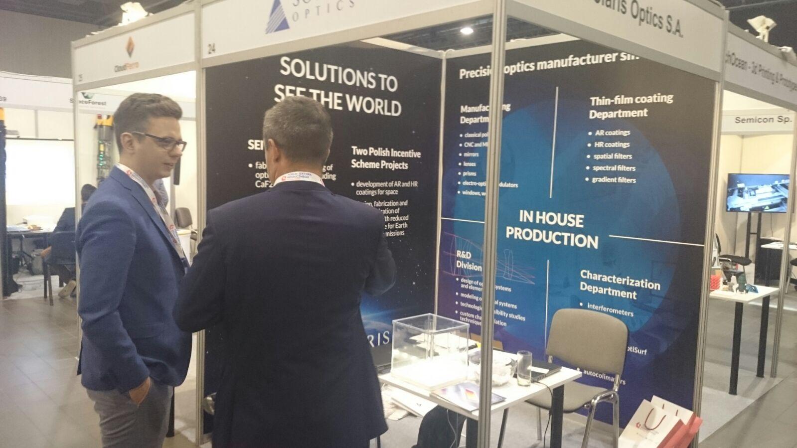 Solaris Optics on Trade Fair