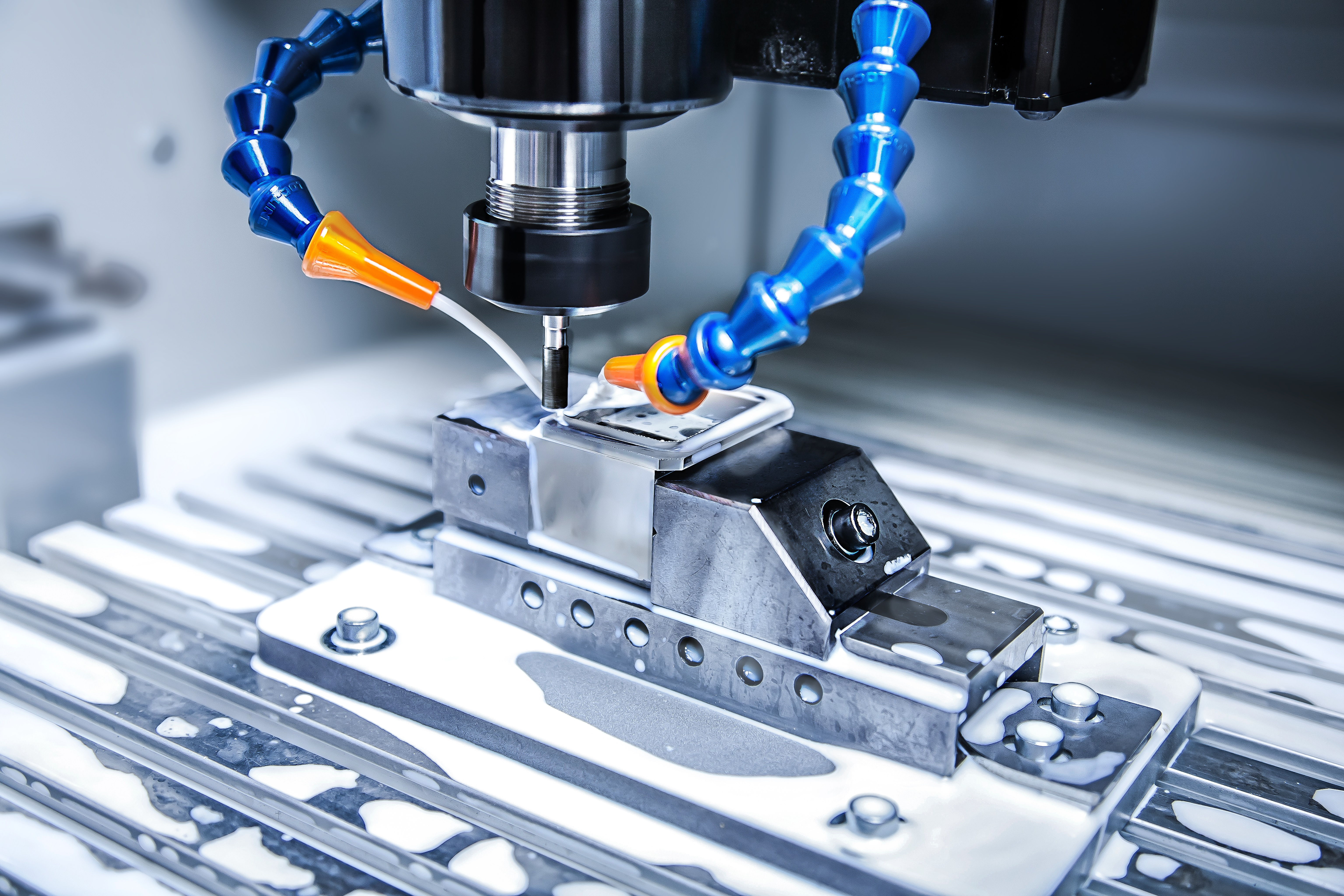 Optics CNC drilling