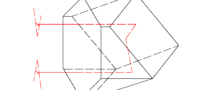 Corner cube prism drawing