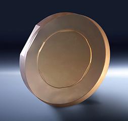 MRF polished cylinder